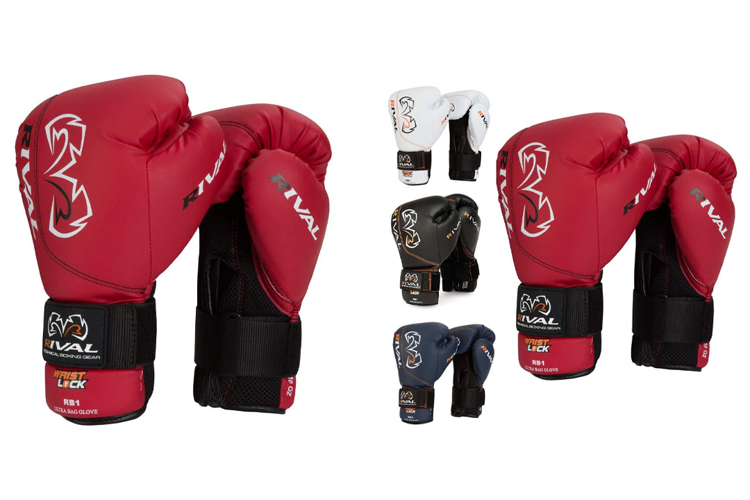 Rival Boxing RB1 Hook and Loop Ultra Bag Gloves