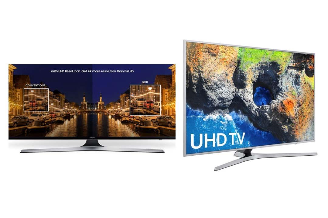 Samsung Electronics UN40MU7000 40-Inch 4K Ultra HD Smart LED TV