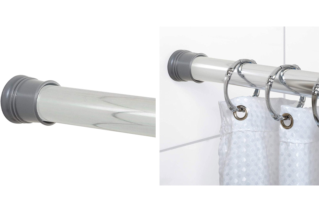 Zenna Home 502S, Tension Shower Stall Rod In Chrome
